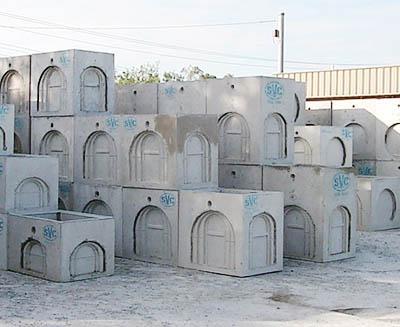 svc precast concrete pit bases