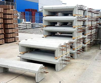 svc precast concrete kerb lintels