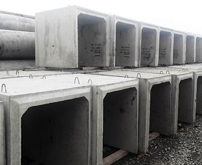 Precast Concrete Endwalls, Pipes & Box Culverts • SVC Products