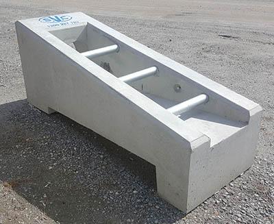 svc precast concrete endwall