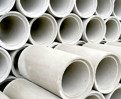 svc precast concrete pipes
